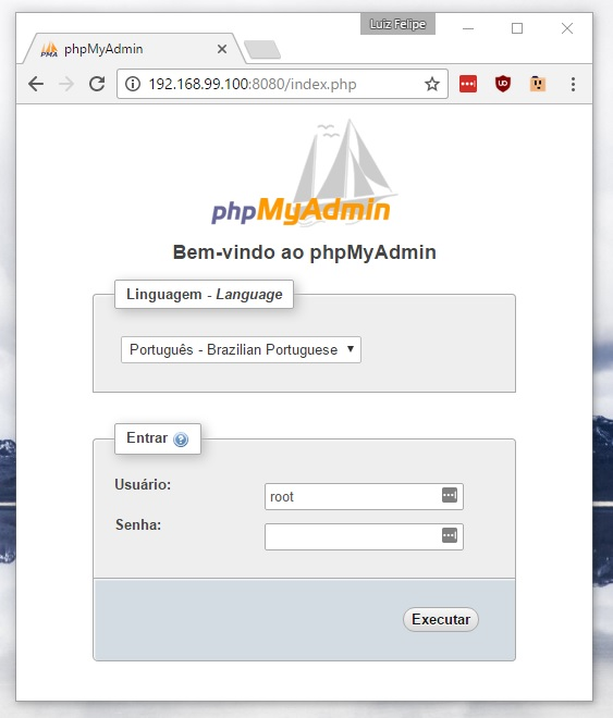 phpmyadmin_docker